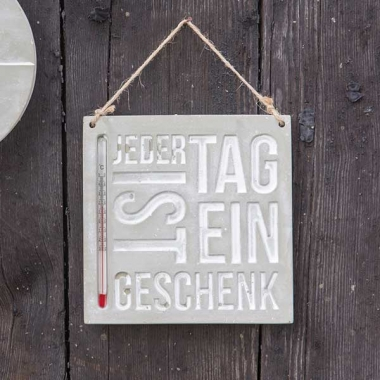 "Thermometer ""Jeder Tag…"""